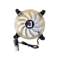 Quạt tản nhiệt cho case Jetek Fan 12 RGB - (HZX-12LED)