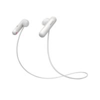 Tai nghe thể thao Sony WI-SP500 In-ear - màu trắng - màng loa 13.5mm loại vòm; BT+NFC; IPX4; 18g