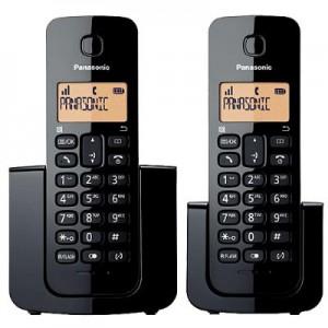 Điện thoại bàn Panasonic KX-TGB112CX Black ( 1mẹ - 1tay con)