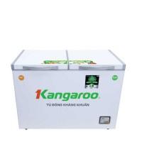 Tủ đông mát Kangaroo 252L inverter kháng khuẩn KG400IC2(2 ngăn,2 cánh mở,Dàn lạnh:Đồng,Xả tuyết bán tự động)