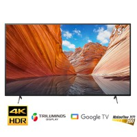 TV Sony 75-inch 4K X80J - Android 10; LED nền; XR200; TRILUMINOS PRO; Loa 2.0 20W;