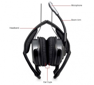 HP Premium Stereo Headset RF823AA