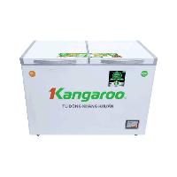 Tủ đông mát Kangaroo 212L kháng khuẩn KG328NC2(Dàn lạnh:Đồng,2 ngăn 2 cánh,Kính lùa)