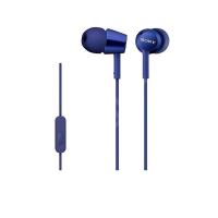 Tai nghe Sony MDR-EX155AP In-Ear - màu xanh dương - màng loa 9mm; 5-24.0000Hz; dây 1.2m; 3g
