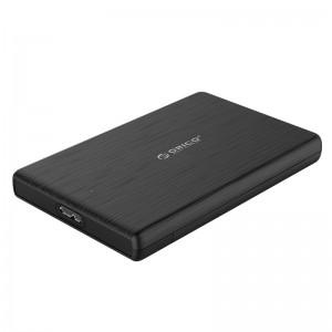 """Hộp đựng ổ cứng Orico 2189U3-BK  2.5"""" SSD/HDD Sata 3, USB 3.0, 5Gbps."""