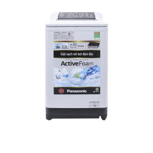 Máy giặt Panasonic 8.5kg cửa trên NA-F85A4HRV (700v/p, Hệ thống ActiveFoam, Mâm giặt 8 cánh)