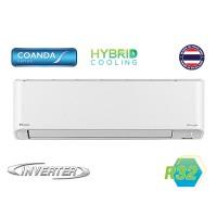 Điều hòa Daikin KZ25VVMV WiFi-1 chiều-Inverter 8500BTU/h;Hybrid Cooling;Streamer;EnzymeBlue; Mắt thần; 46dB(dàn nóng 27KG)