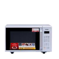 Lò vi sóng Toshiba ER-SS23(W1)VN, 23L, 800W, 8 chế độ nấu, bảng nút bấm tiếng Việt, trắng