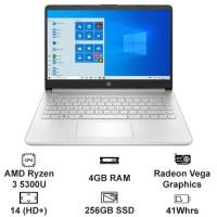 """MTXT HP 14S FQ1080AU 4K0Z7PA Ryzen 3 5300U/4GB/256GB SSD PCIe/14"""" HD/Win10H/Silver"""