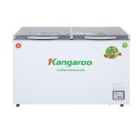 Tủ đông mát Kangaroo 327L kháng khuẩn KG498C2 (Dàn đồng,2 cánh 2 ngăn,Lòng nhôm sơn tĩnh điện phủ Nano bạc)