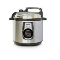 Nồi áp suất điện Philip HD2103 (5 lít, 900W, 14 thực đơn nấu, giữ ấm 6h vỏ thép không gỉ)