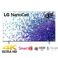 TV LG 43 inches 43NANO77TPA 4K,smart,Nanocell,VoiceSeach,Loa 20w,BXL lõi tứ 4K,967 x 622 x 216mm