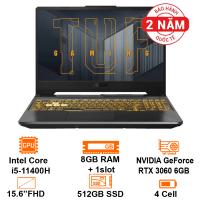 MTXT Asus Gaming FX506HM-HN018T Intel Core i5-11400H/8GB+1Slot/512GB SSD+ 1Sata3/15.6 FHD 120Hz/RTX3060 6GB/Win10H/Gray