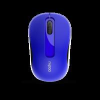 Chuột không dây Rapoo M10 Plus - mầu xanh đậm, 2.4Ghz, 1000dpi
