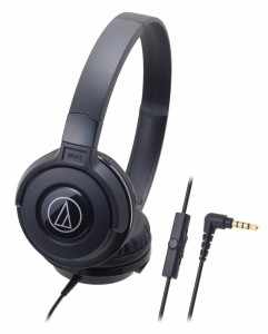 Tai nghe Audio Technica chụp đầu ATH-S100IS-BK- Black - jack 3,5mm