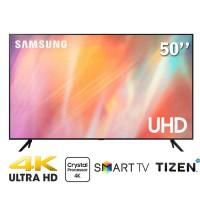TV Samsung 50-inch 4K AU7700 không viền 3 cạnh - Tizen; voice search; PQI 2000; BT4.2; Loa 2.0 20W; 200W