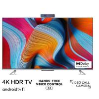 TV TCL 75-inch - 65P725 4K Android TV 11, Tràn viền ( hợp kim ), 60Hz. Loa 19W, Tìm kiếm giọng nói rảnh tay