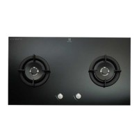 Bếp ga âm Electrolux 2 bếp EGT8028CK( mặt kính chịu nhiệt, van kép, kiềng men, 780x460x65)