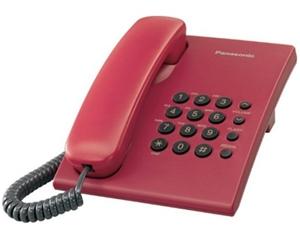 Điện thoại bàn Panasonic KX-TS500 - mầu đỏ