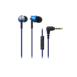 Tai nghe Audio Technica ATH-CK330IS- Black - Inner-Ear; 3.5mm; In-Line microphone, nút nhận cuộc gọi