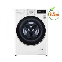 Máy giặt LG 8.5kg cửa trước AI DD™ FV1408S4W(1400v/p,Inverter,Cửa kính cường lực,Công nghệ giặt hơi nước Steam,Màu:Trắng)