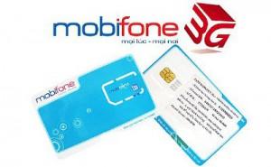 Sim 3G Mobifone - KM sử dụng 3G Data 1,8GB/ Tháng/ 12 tháng