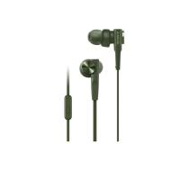 Tai nghe Sony EXTRA BASS MDR-XB55AP In-ear - màu xanh lá - màng loa 12mm loại vòm; dây 1.2m; 8g
