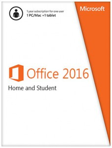 Office Home and Student 2016 Win English APAC EM Medialess