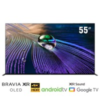 TV Sony 55-inch 4K OLED A90J - Android 10; Cognitive Processor; Acoustics Surface Audio,100/120Hz )