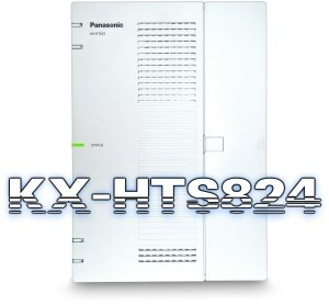 Tổng đài IP Panasonic KX-HTS824BX, 4 trung kế, 8 thuê bao