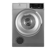 Máy sấy quần áo Electrolux 8,0kg EDV805JQSA(Công nghệ sấy đảo chiều,Máy sấy hơi,Thanh sấy:1500W,Động cơ:150W,Thân:Bạc,Cửa:Bạc)