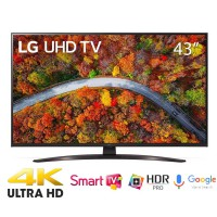 TV LG 43-inch 4K 43UP8100PTB( 4K UHD, Smart. Voiice Seach,WEBOS,BXL Lõi tứ 4K.Loa 20W,967 x 629 x 249mm)
