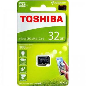 Thẻ nhớ MicroSDHC 32Gb M203 UHS-I - Class 10 100MB/s - Toshiba