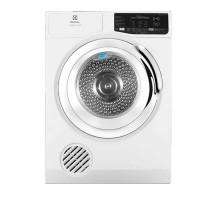 Máy sấy quần áo Electrolux 8,0kg EDS805KQWA(Máy sấy hơi;Sấy đảo chiều;Thanh sấy:1500W,Động cơ 150W,1,Màu trắng;Cửa:Crom