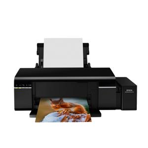 Máy in phun 6 màu Epson L805, khổ A4- 5.760x1.440 dpi- 37 trang đen A4/phút - 38 trang màu A4/phút- Kết nối usb / wifi