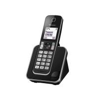 """Điện thoại bàn Panasonic KX-TGD310CXB Black, LCD 1.8"""", Danh bạ lưu đc 120 tên, kế nối với 4 thiệt bị tìm  kiếm TGA20,"""