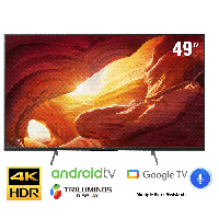 TV Sony 49-inch 4K X8500H - Android 9.0, Google Assistant;Voice Search, xuất xứ:Malaysia