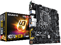 GIGABYTE™ GA-H370M-D3H- Intel H370 chipset - Socket LGA 1151 Support for Intel® 8th Gen Core™ i7/i5/i3/Pentium®/Celeron® LGA1151