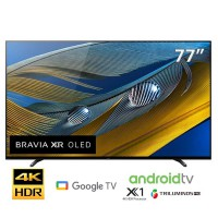 TV Sony 77-inch 4K OLED A80J - Android 10; HDR10