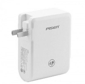 Sạc điện thoại thông minh Pisen TS-C054  - sạc cùng lúc 4 cổng USB