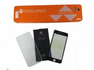 Bộ ốp lưng silicon + dán cường lực iPhone 7 8 - màu đen - WK