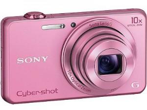 Máy ảnh KTS Sony WX220 - Pink - Độ phân giải 18.2 Mpx; Zoom 10X; LCD 2.7; 121g