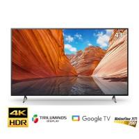TV Sony 43-inch 4K X80J - Google TV; LED nền; XR200; Triluminos Pro; BT4.2; Loa 2.0 20W;